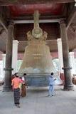 Mingun klocka Myanmar arkivbilder
