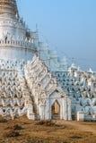 Mandalay - Mingun. Mingun near Mandalay is tourist attraction - Mya Thein Tan Pagoda entrance Stock Image