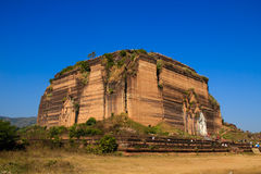 Mingun Pagoda  , Mingun in Myanmar (Burmar) Royalty Free Stock Photo