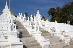 Mingun Pahtodawgy Myanmar Immagini Stock
