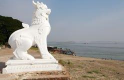 Mingun Pahtodawgy Myanmar Fotografie Stock