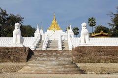 Mingun Pahtodawgy Myanmar Stock Images