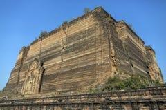 Mingun Pahtodawgyi - Myanmar (Burma) Stock Images