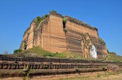 Mingun Paya. In Mingun,Myanmar Royalty Free Stock Images