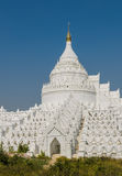 Mingun white pagoda, Myanmar Stock Photography
