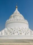 Mingun white pagoda, Myanmar Royalty Free Stock Photography