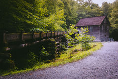 Mingus-Mühle, an Nationalpark Great Smoky Mountains, Nord-Carol Stockfoto