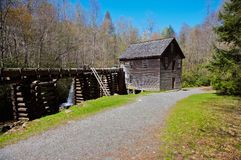 Mingus Mill. Great Smoky Mountains National Park in North Carolina stock photos