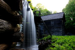 Mingus Mill in Great Smoky Mountain  National Park Stock Photography
