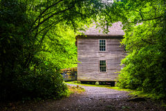 Mingus Mill, Great Smoky Mountains National Park, North Carolina Stock Photos