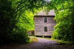 Mingus Mill, Great Smoky Mountains National Park, North Carolina Stock Photos