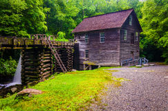 Mingus Mill, Great Smoky Mountains National Park, North Carolina Stock Image