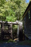 Mingus Mill at Great Smoky Mountains National Park Royalty Free Stock Images
