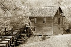 Mingus Mill Smoky Mountains Stock Photo