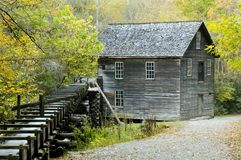 Mingus Mill Smoky Mountains Royalty Free Stock Image