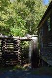 Mingus młyn przy Great Smoky Mountains parkiem narodowym Obrazy Royalty Free