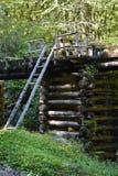 Mingus młyn przy Great Smoky Mountains parkiem narodowym Zdjęcia Stock