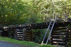 Mingus młyn przy Great Smoky Mountains parkiem narodowym Zdjęcie Stock