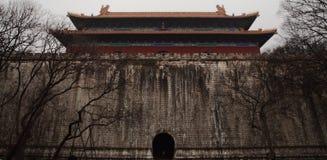 Mingxiao Ling la tomba di Zhu Yuanzhang immagini stock libere da diritti