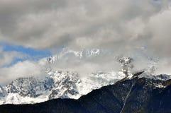 Mingyong för Meili snöberg glaciärer arkivfoto