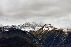 Mingyong för Meili snöberg glaciärer royaltyfri fotografi