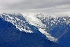 Mingyong för Meili snöberg glaciärer fotografering för bildbyråer