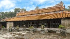 Minh Khiem Chamber en el palacio colindante complejo de Hoa Khiem del palacio en el complejo del Tu Duc Royal Tomb, tonalidad, Vi imagen de archivo libre de regalías