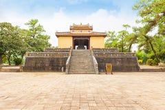 Τάφος του βασιλιά Minh Mang, η αυτοκρατορική πόλη του χρώματος Στοκ Εικόνα
