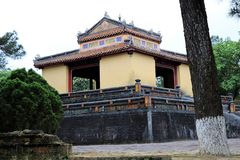 Minh Mang Royal Tomb Hue - Vietnam Asia. Minh Mang Royal Tomb Hue a beautiful place - Vietnam Asia royalty free stock image