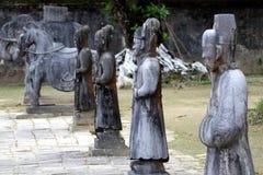 Minh Mang Royal Tomb Hue - Vietnam Azië stock foto