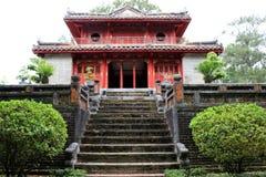 Minh Mang Royal Tomb Hue - Vietname Ásia imagem de stock