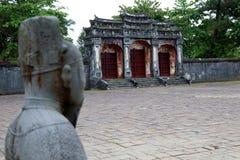 Minh Mang Royal Tomb Hue - Vietname Ásia imagens de stock