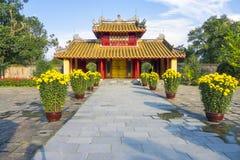Minh Mang Tomb Hue Vietnam Arkivbilder