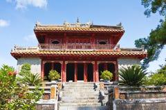 Minh Mang Tomb, tonalità immagini stock