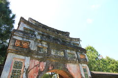 Minh Mang Tomb, Vietnam Royalty Free Stock Image