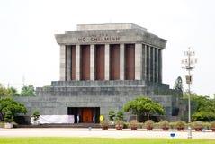 minh vietnam för mausoleum för chihanoi ho Arkivfoto