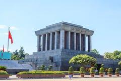 minh vietnam för mausoleum för chihanoi ho arkivbilder