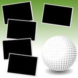 Minha aventura da foto do golfe Fotografia de Stock