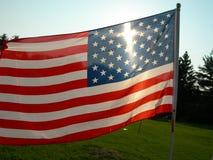 Minha bandeira Imagem de Stock