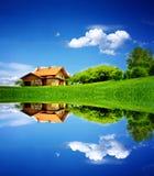 Minha casa Fotografia de Stock Royalty Free