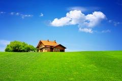 Minha casa Imagens de Stock Royalty Free