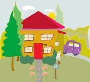 Minha casa Imagem de Stock