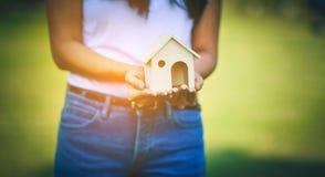 Minha casa pequena é bonita imagens de stock royalty free