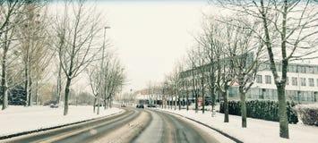 Minha cidade Fotografia de Stock