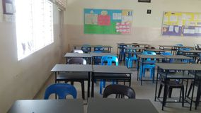 Minha classe fotografia de stock