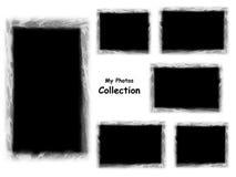 Minha coleção das fotos ilustração do vetor