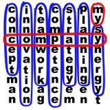 Minha companhia ilustração do vetor