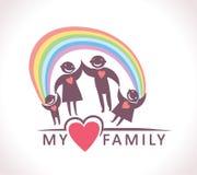 Minha família Fotos de Stock Royalty Free