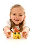 Minha HOME é protegida Imagem de Stock Royalty Free