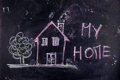 Minha HOME Imagem de Stock